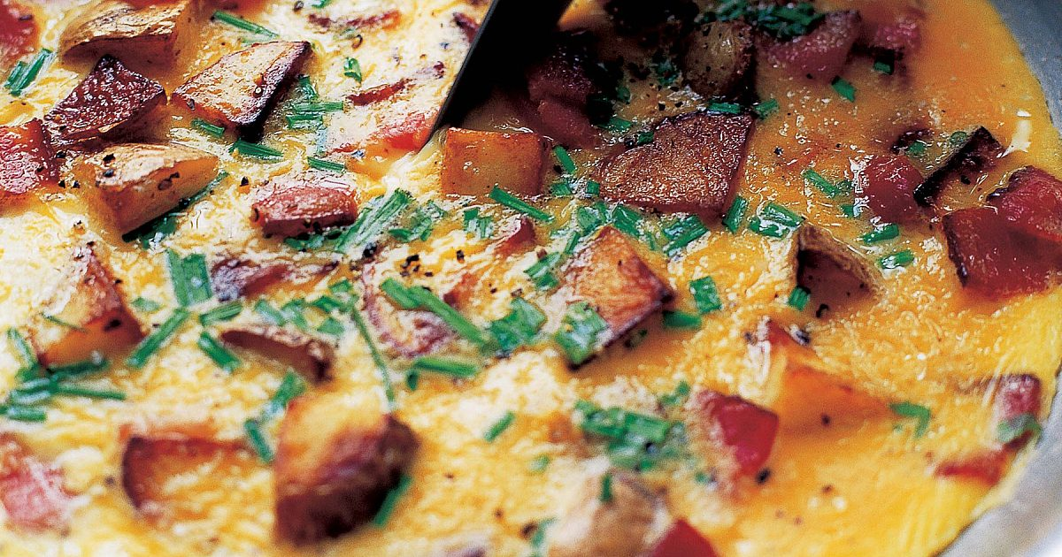 Country French Omelet   Recipes
