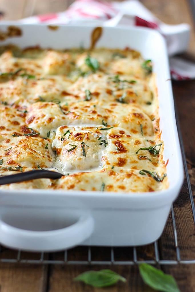 Pasta: Spinach And Artichoke Ravioli Bake