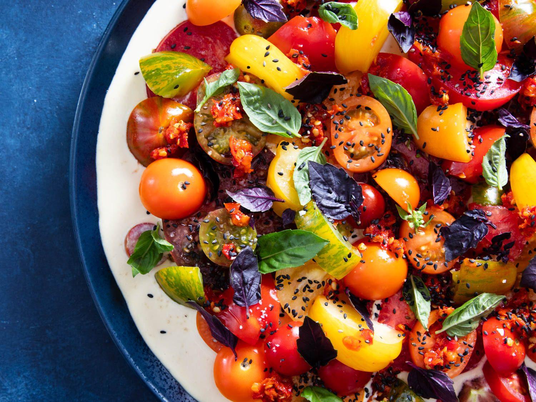 Summer Tomato Tonnato Salad