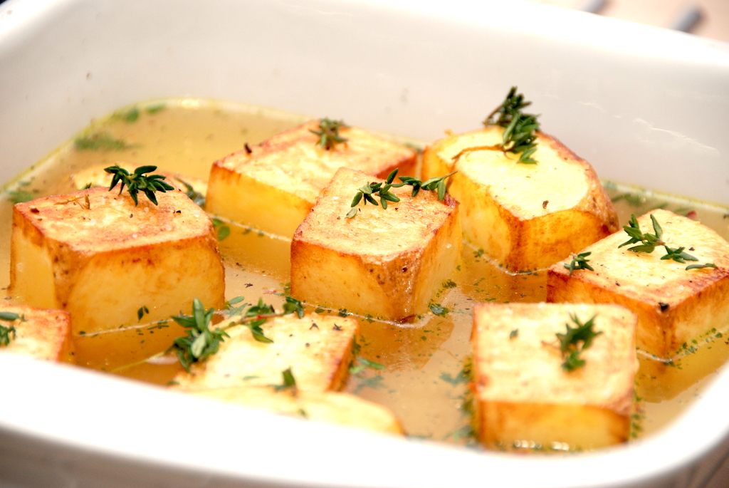 Fondant Kartofler - Pommes Fondant