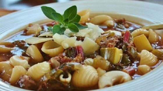 Best Italian Sausage Soup Recipe - SLOW COOKER