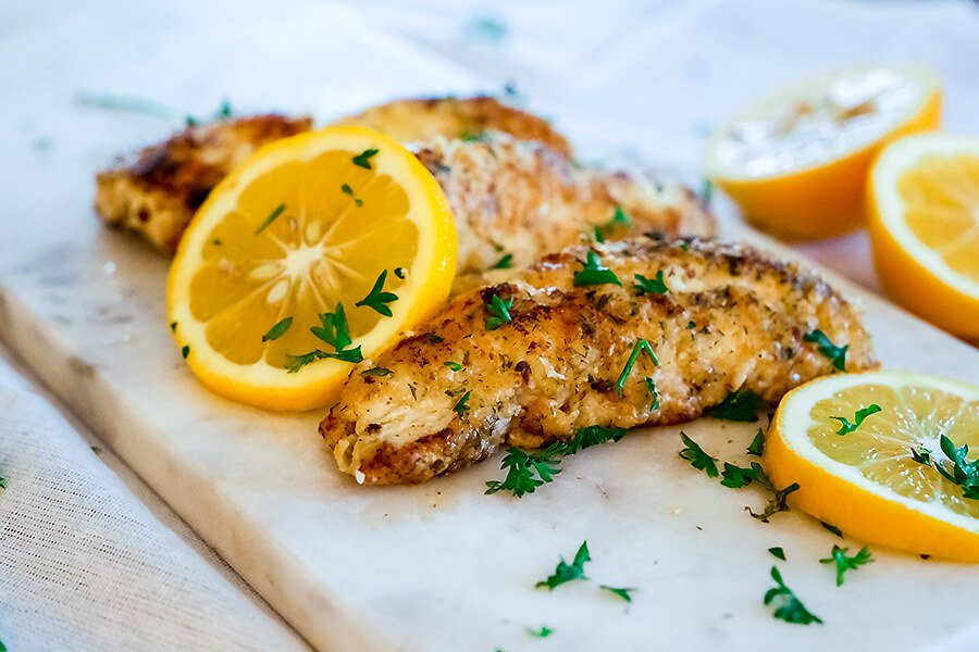 Zingy Lemon Fish | Ruled Me