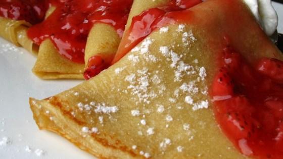 Basic Crepes Recipe