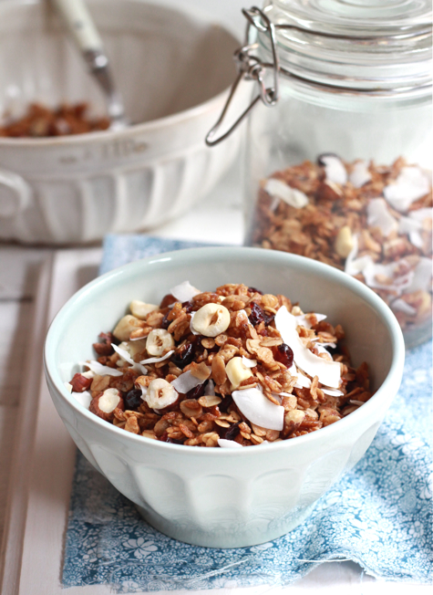My Favorite Granola - The Clever Carrot