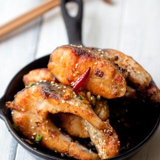 Fried Garlic Ribs