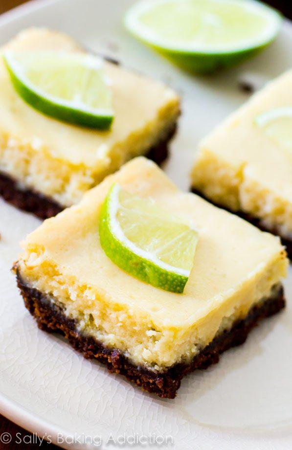 Key Lime Pie Bars - Easy Recipe   Sally's Baking Addiction
