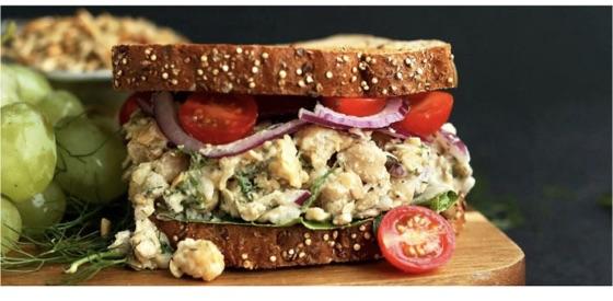 "Chickpea ""Tu-no"" Salad"
