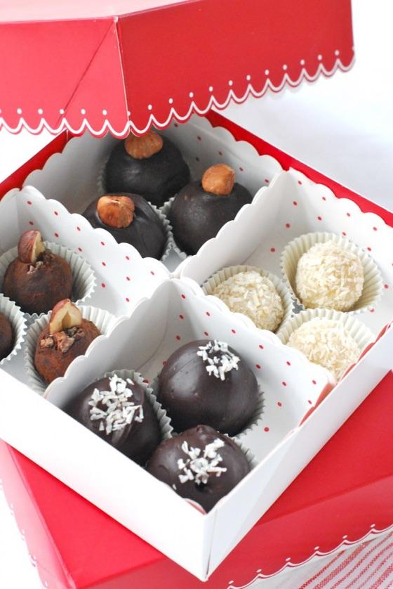 Raw Hazelnut Truffles