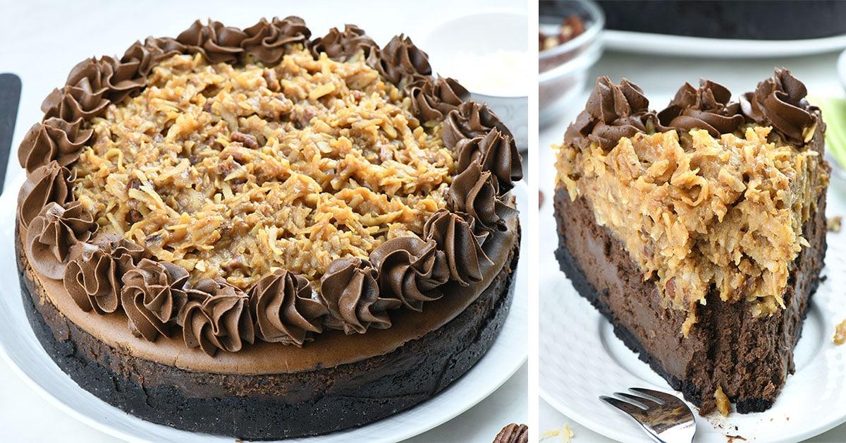 Cheesecake: German Chocolate