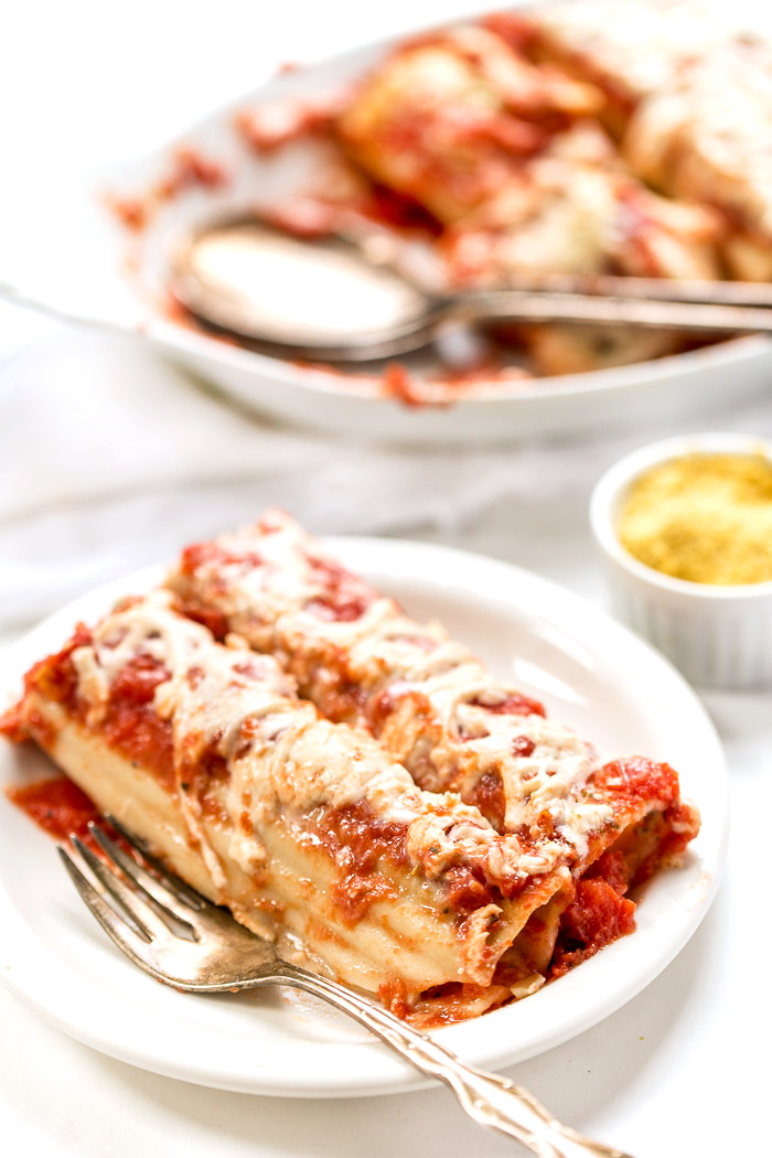 Easy Vegan Manicotti With Tofu Ricotta - Simply Quinoa