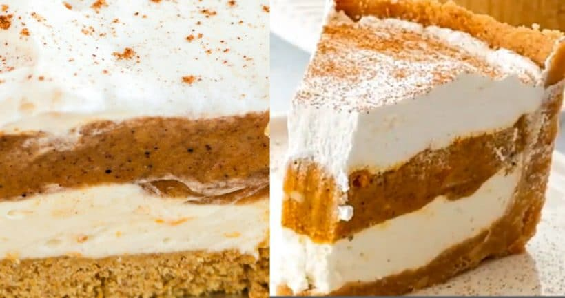 Easy Pumpkin Pie - It's No Bake!!!