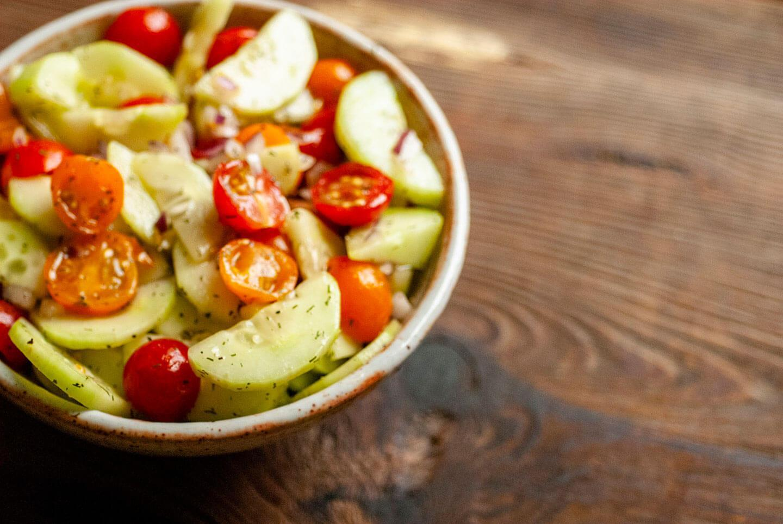 Cucumber And Tomato Salad | Homesick Texan