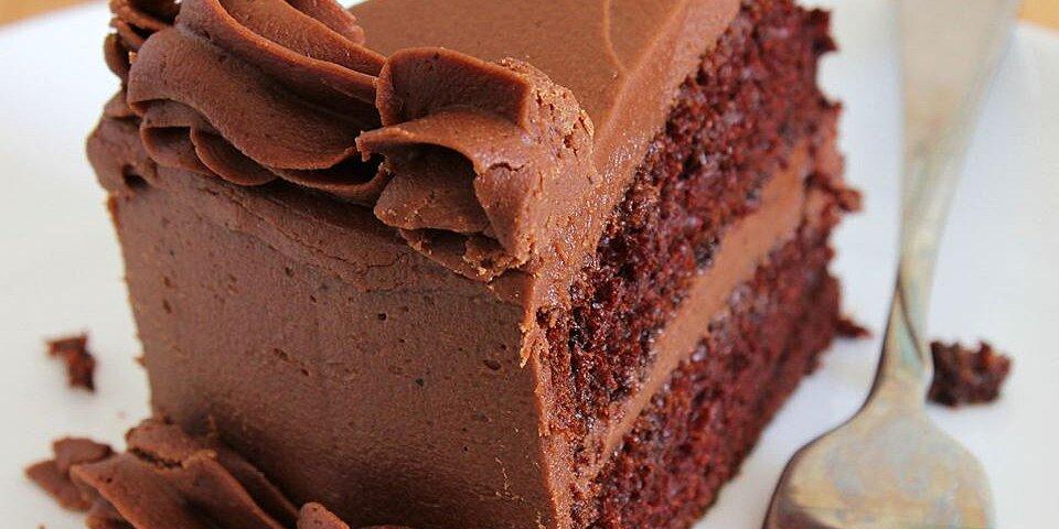 Cake: One Bowl Chocolate