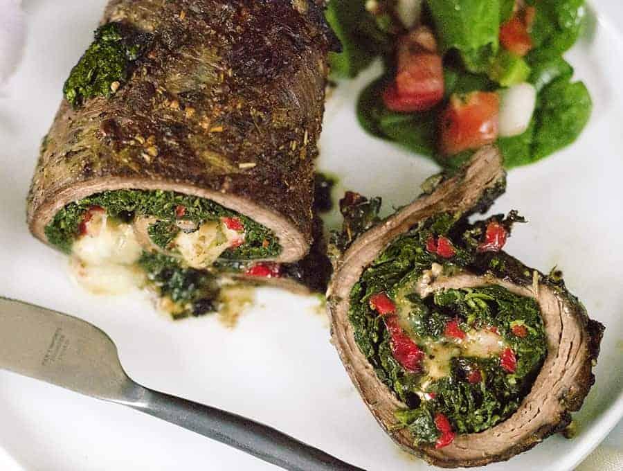 Italian Stuffed Steak Rolls | Air Fryer Recipe