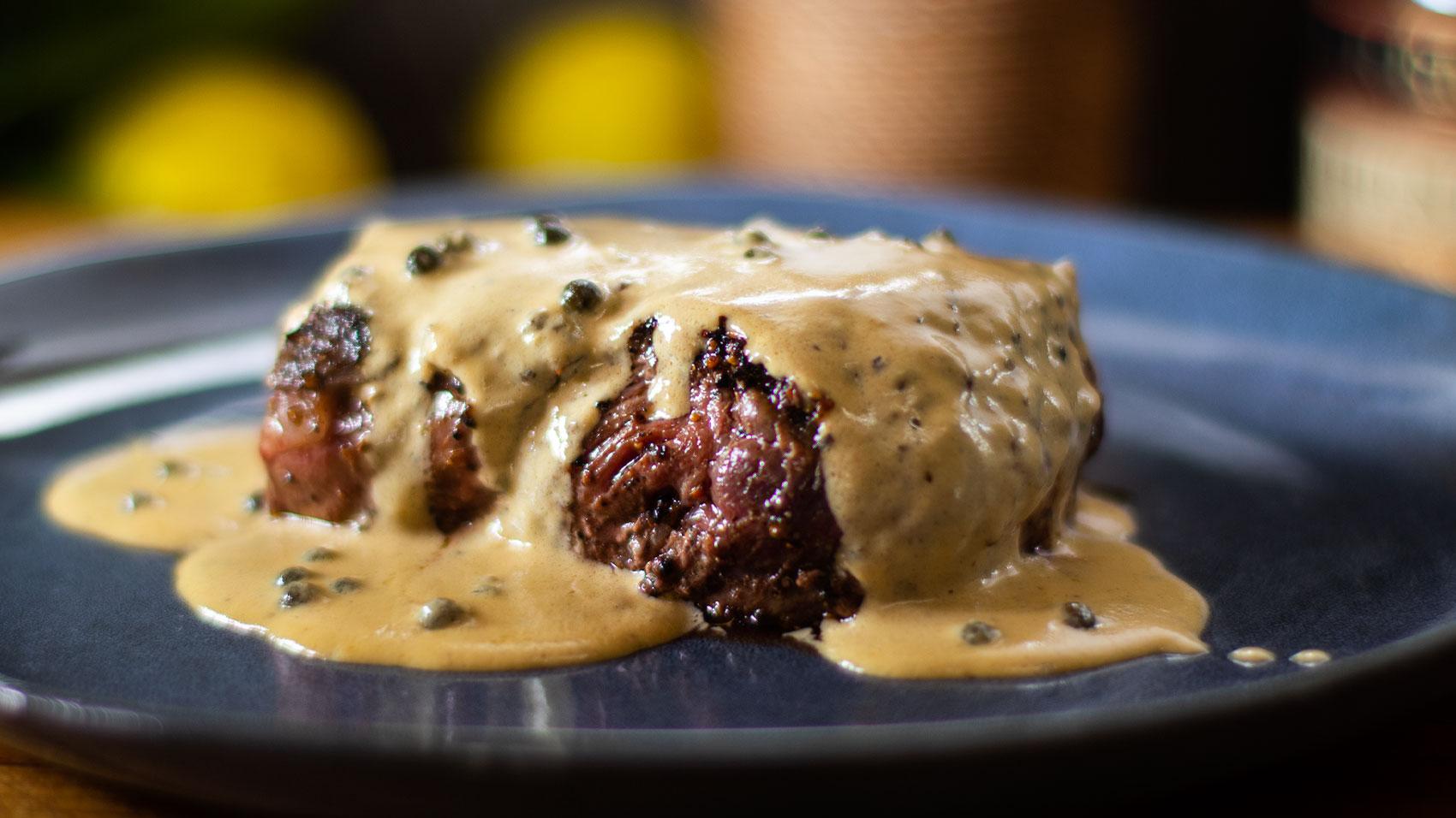 Filet Mignon: Steak Au Poivre