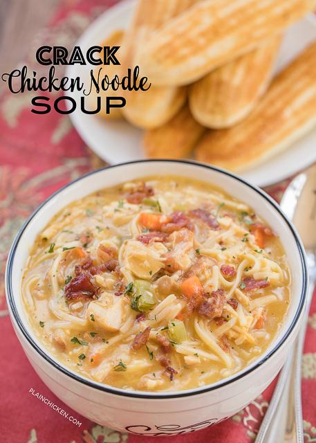 Crack Chicken Noodle Soup Crack Chicken Noodle Soup Crack Chicken Noodle Soup