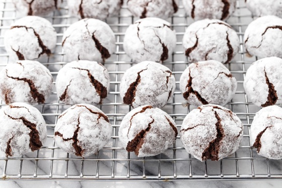 Chocolate Amaretti Cookies | Love And Olive Oil