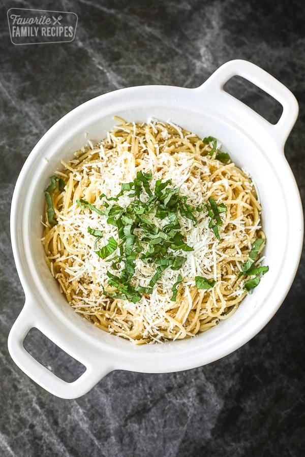 Mizithra Pasta - The Old Spaghetti Factory