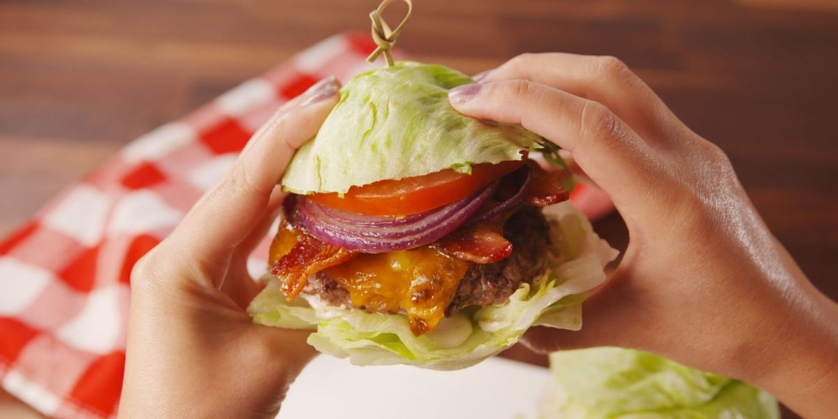 Lettuce Wrapped Burgers