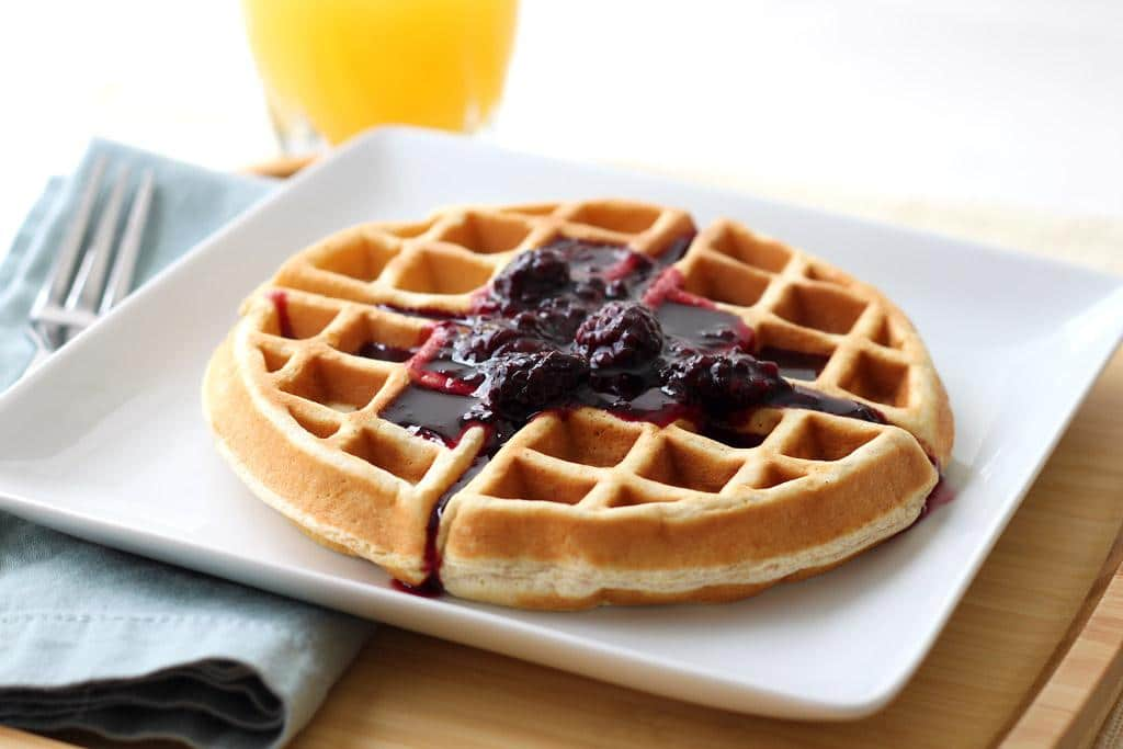 Simply Delicious Waffles Recipe