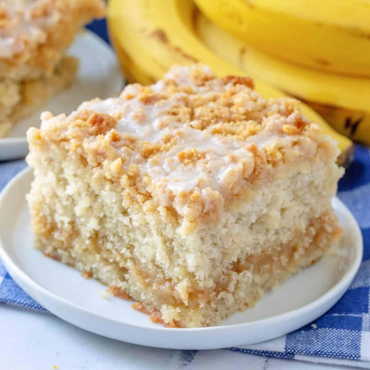 Cake: Banana Bread Crumb Cake