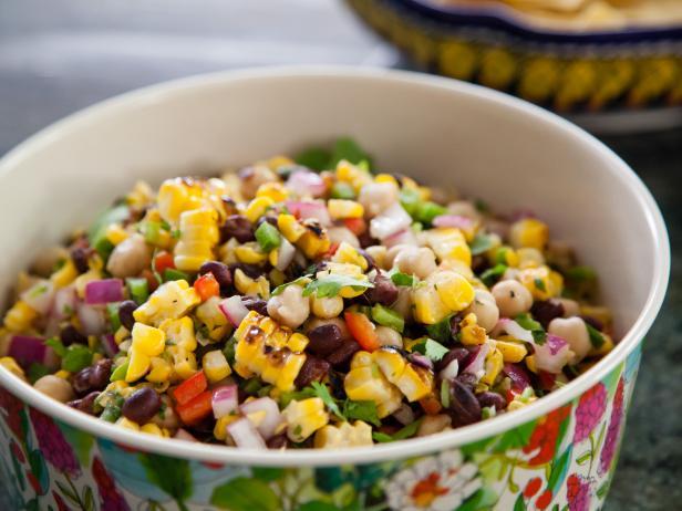 Corn: Grilled Corn And Black Bean Salad