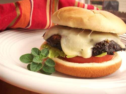 Portobello And Herb Burgers
