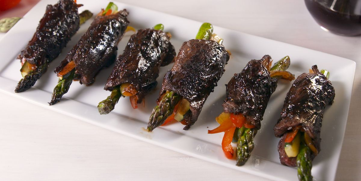 Balsamic Steak Roll-Ups = The Perfect Savory Bite