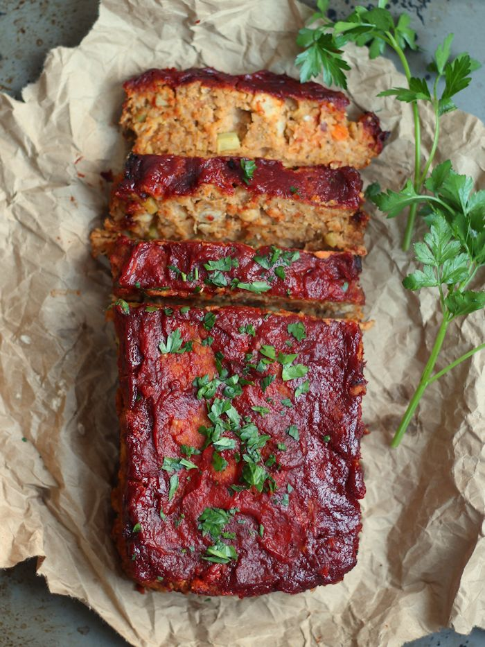 Chickpea Vegan Meatloaf - Connoisseurus Veg