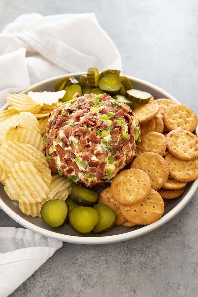 Dip: Dill Pickle Bacon Cheese Ball