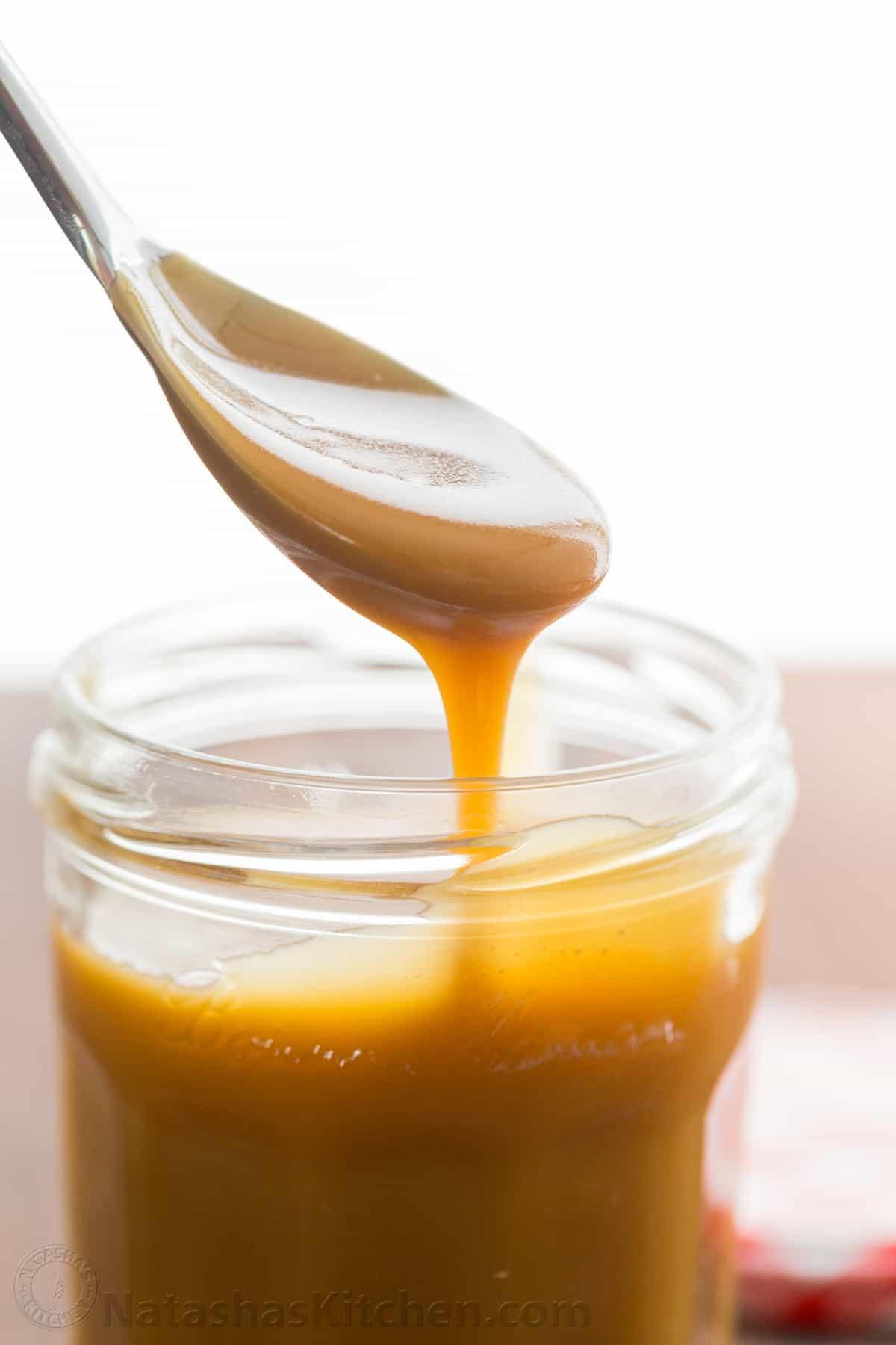 Easy Caramel Sauce Recipe - NatashasKitchen.com