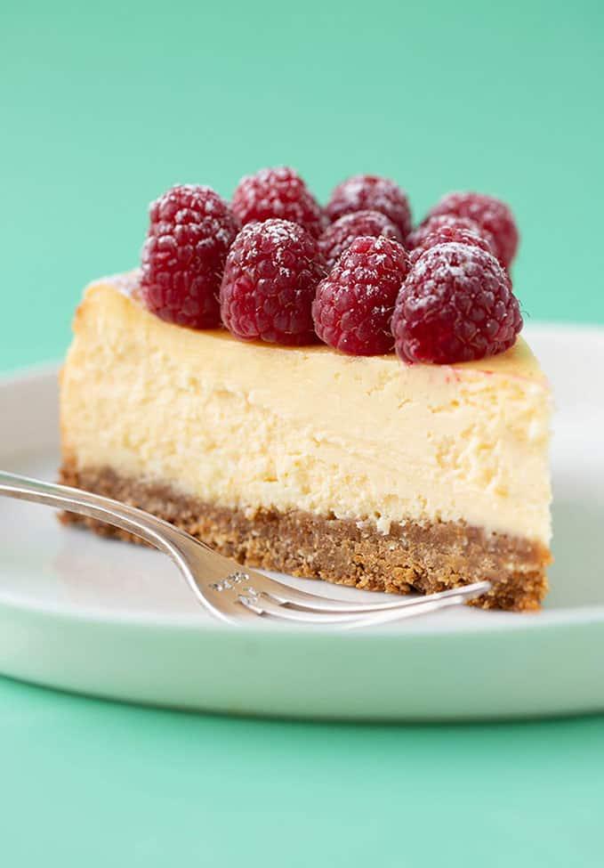 BEST EVER White Chocolate Cheesecake - Sweetest Menu