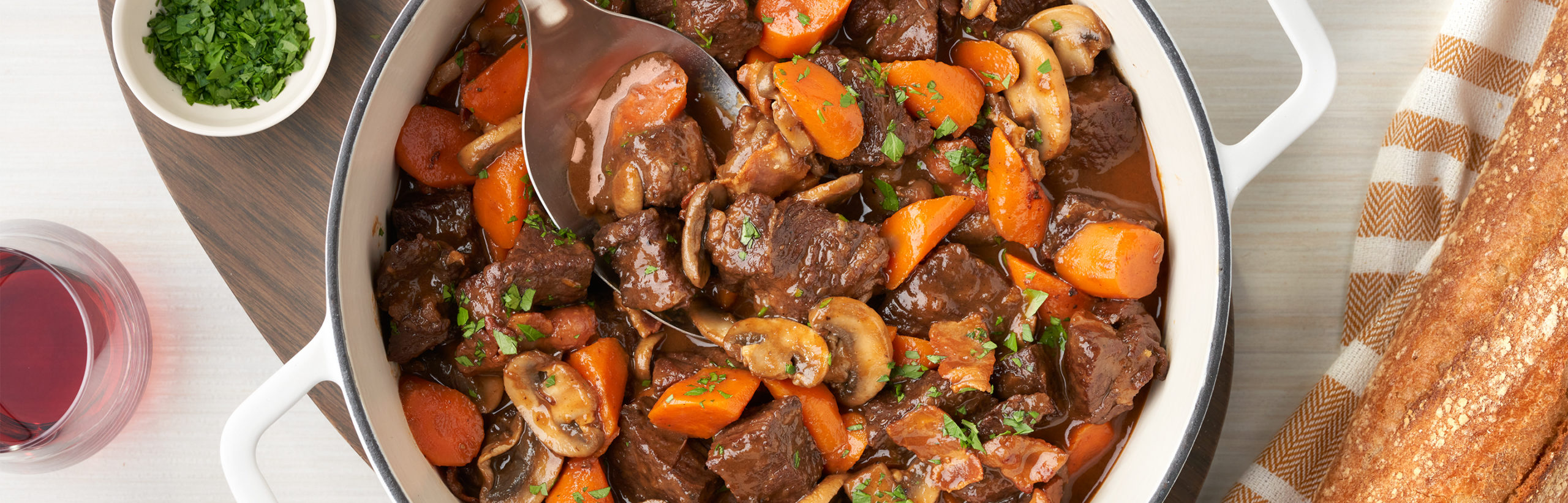 Easy One-Pot Beef Bourguignon - Campbell Soup Company