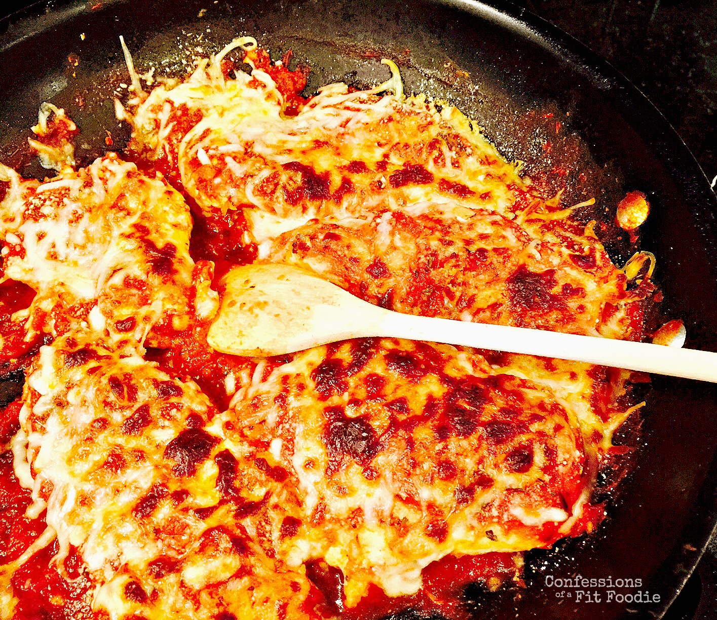 Italian Chicken Skillet {21 Day Fix} - Confessions of a Fit Foodie