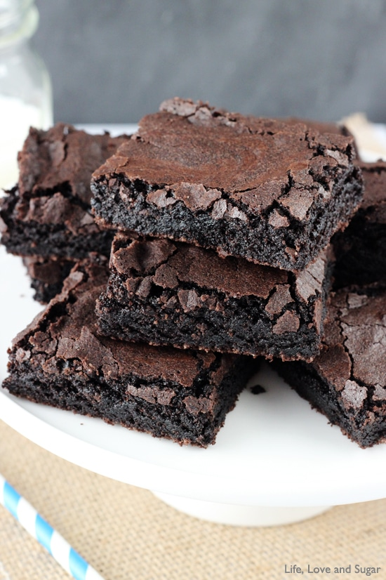Quick And Easy Brownies | Easy Homemade Brownies Recipe