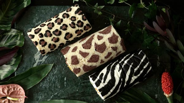 Animal Print Cake Rolls ~ Recipe   Tastemade