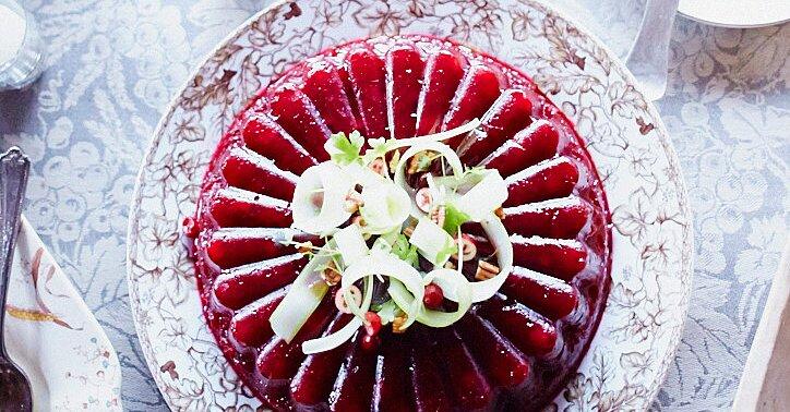 Molded Cranberry Sauce Recipe *