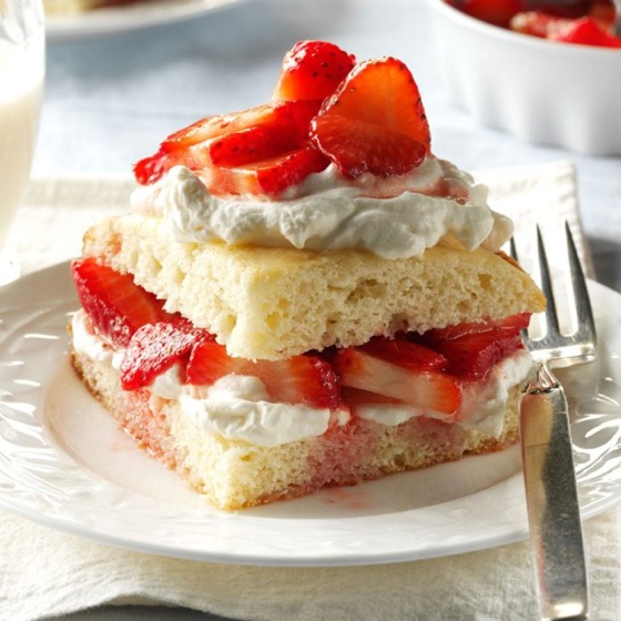 Easy Old Fashioned  Strawberry Shortcake