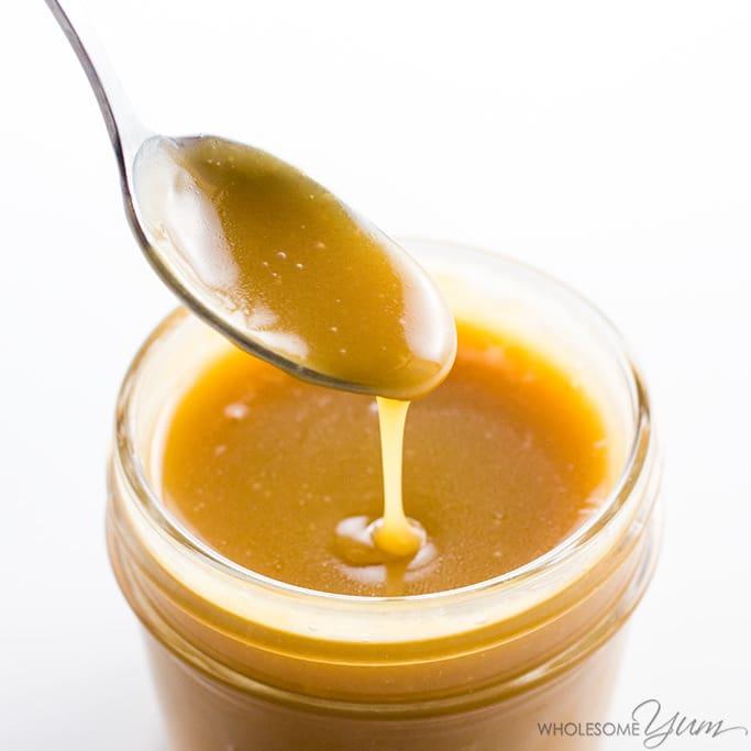 Sugar-Free Caramel Sauce (Low Carb, Keto)