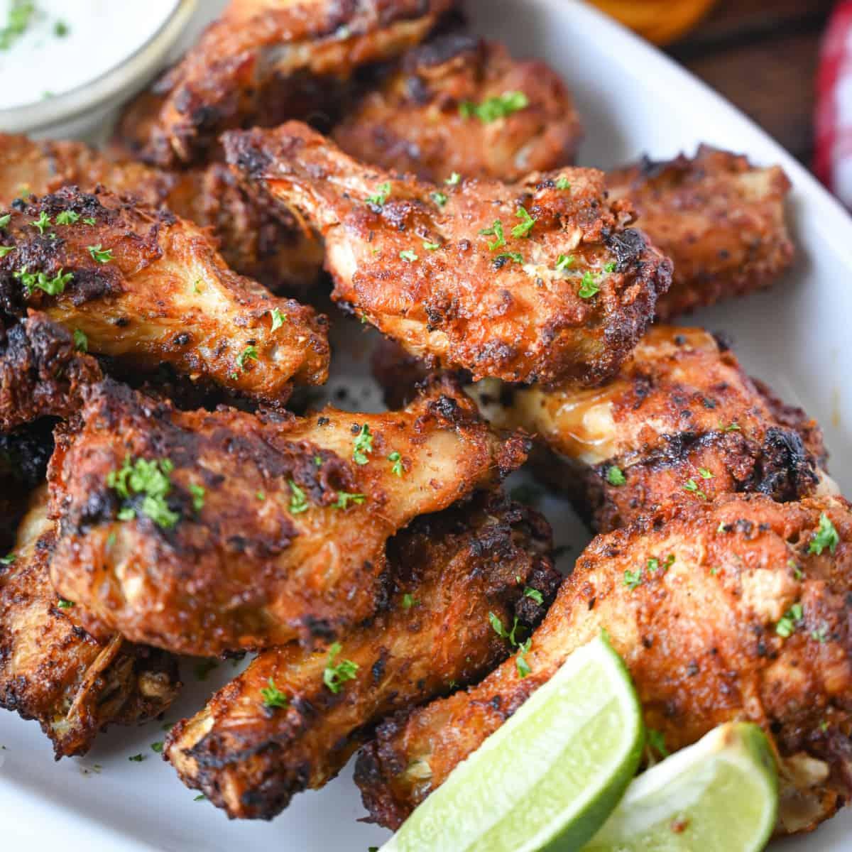 Wings: Air Fryer Old Bay Chicken Wings