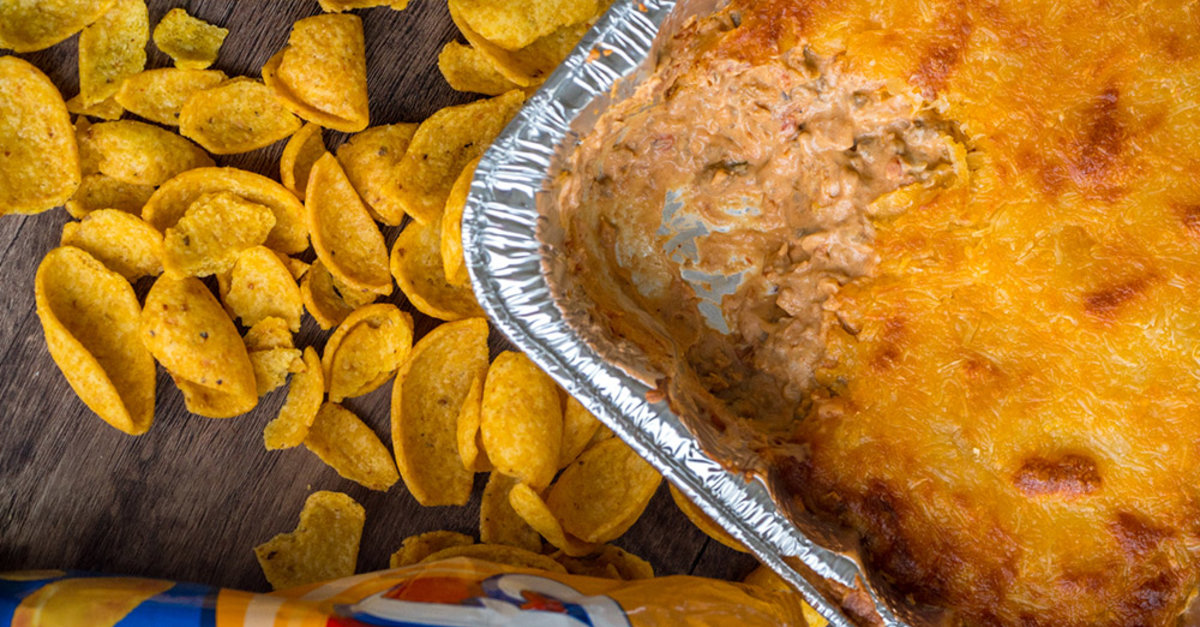 Classic Texas Trash Bean Dip