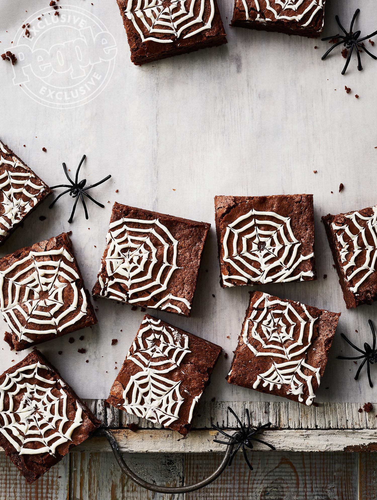 Elizabeth Blau's Spiderweb Brownies