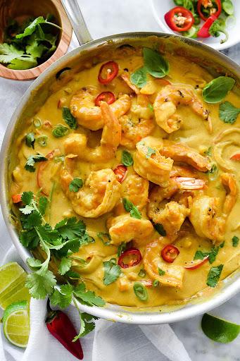 Thai Coconut Shrimp