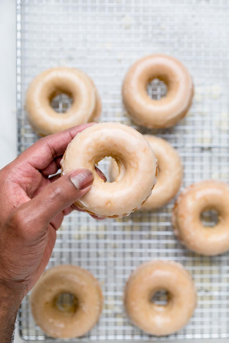 Glazed Vegan Donuts - Make It Dairy Free
