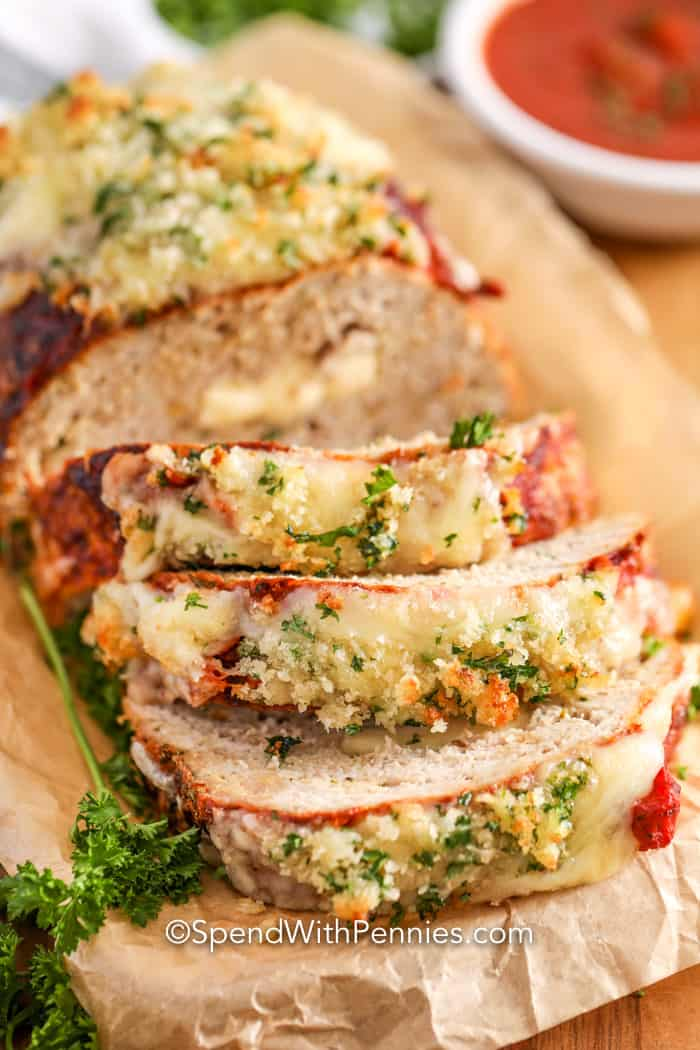 Parmesan Chicken Meatloaf