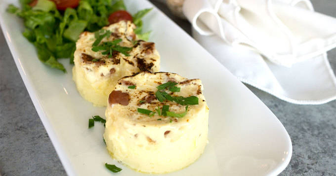 Sous Vide Bacon And Gruyère Egg Cups