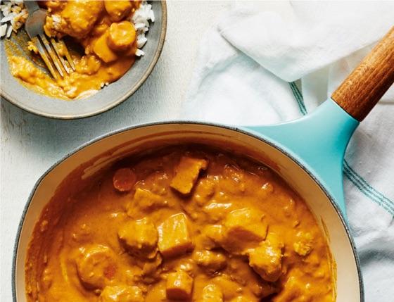 Vegan Indian Butter Chicken