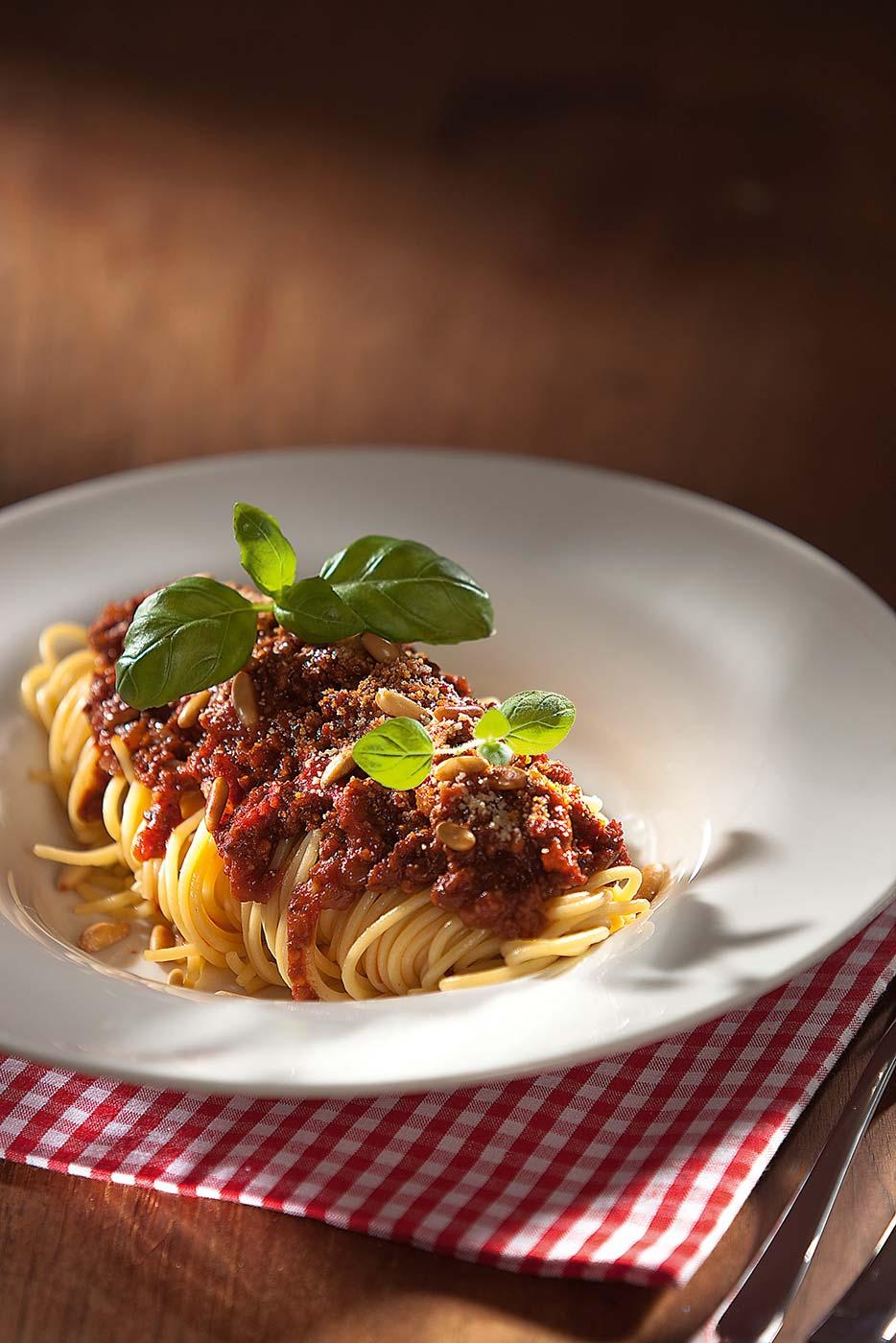 Rezept Für Attilas Spaghetti Mit Tofu Bolognese