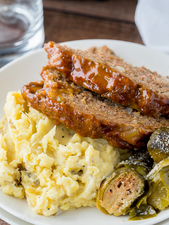 Instant Pot Meatloaf Mashed Potatoes