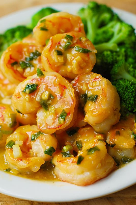Honey Mustard Garlic Shrimp - Julia's Album